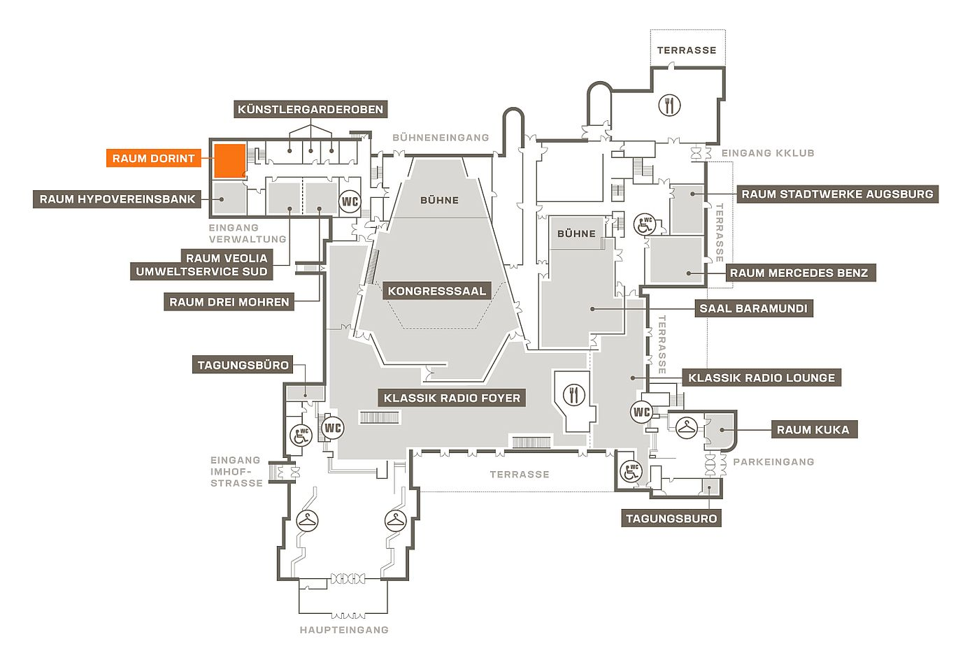veranstalten kongress am park. Black Bedroom Furniture Sets. Home Design Ideas
