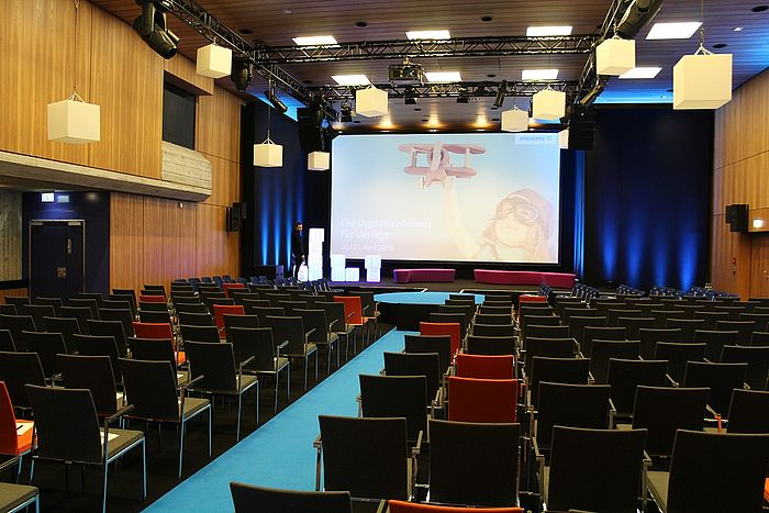 newscamp 2016 Saal baramundi Kongress am Park Augsburg